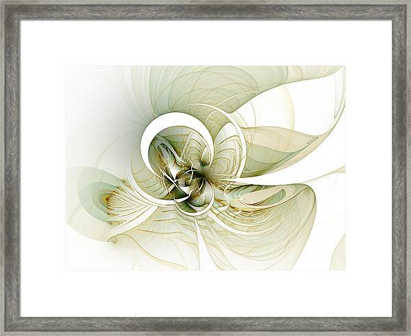 Feather Your Nest Framed Print