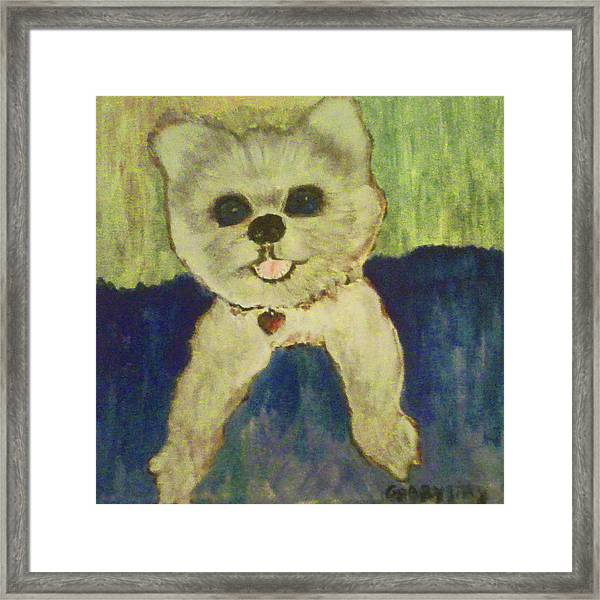 Fed Ex Doggie Framed Print
