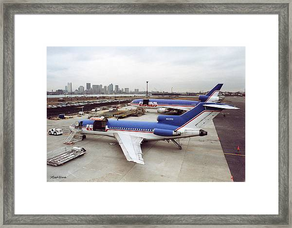 Fedex Ramp Boston 1985 Framed Print
