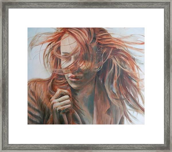 Feel The Wind Framed Print