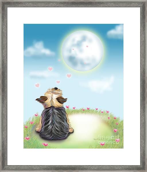 Feeling Love Framed Print