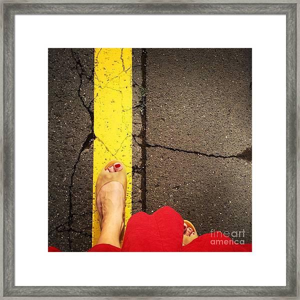 Feet Around The World #27 Framed Print