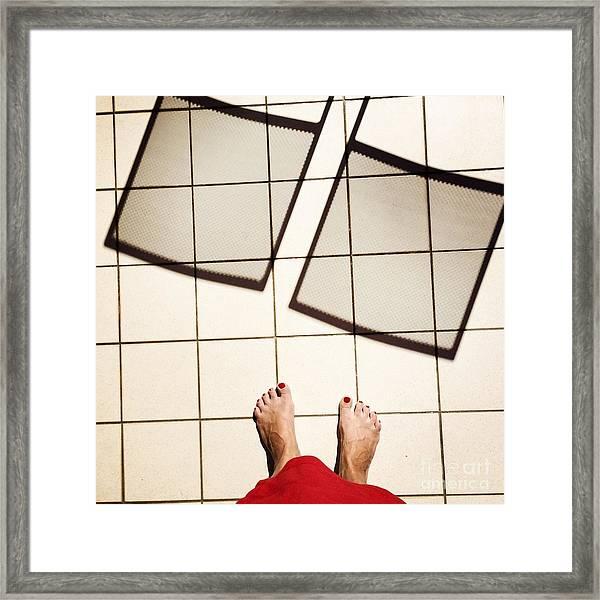 Feet Around The World #28 Framed Print