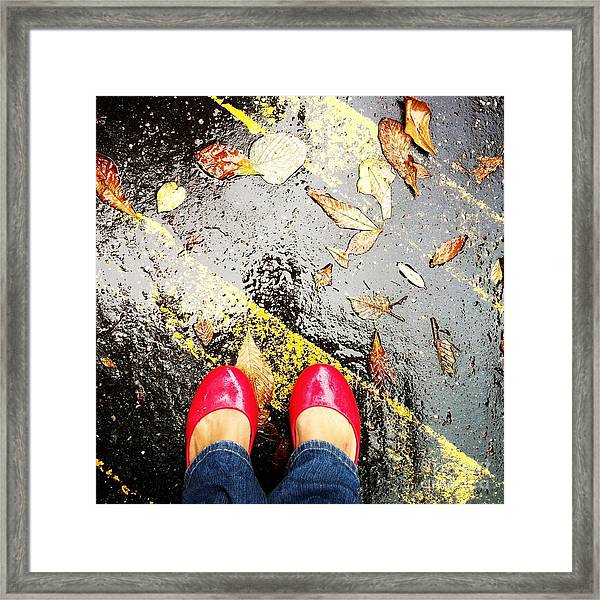 Feet Around The World #29 Framed Print