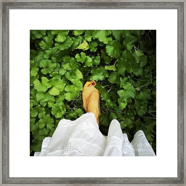 Feet Around The World #3 Framed Print