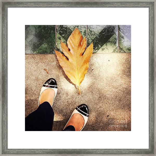 Feet Around The World #30 Framed Print