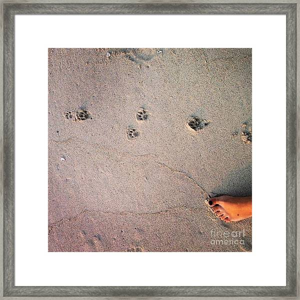 Feet Around The World #31 Framed Print