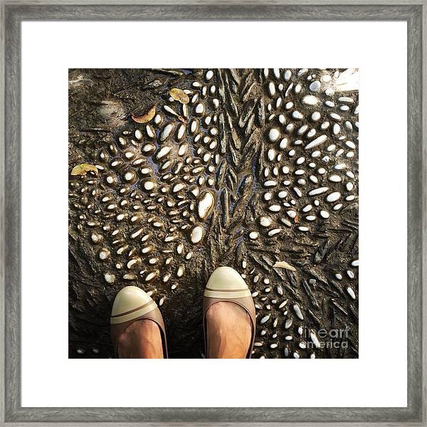 Feet Around The World #32 Framed Print
