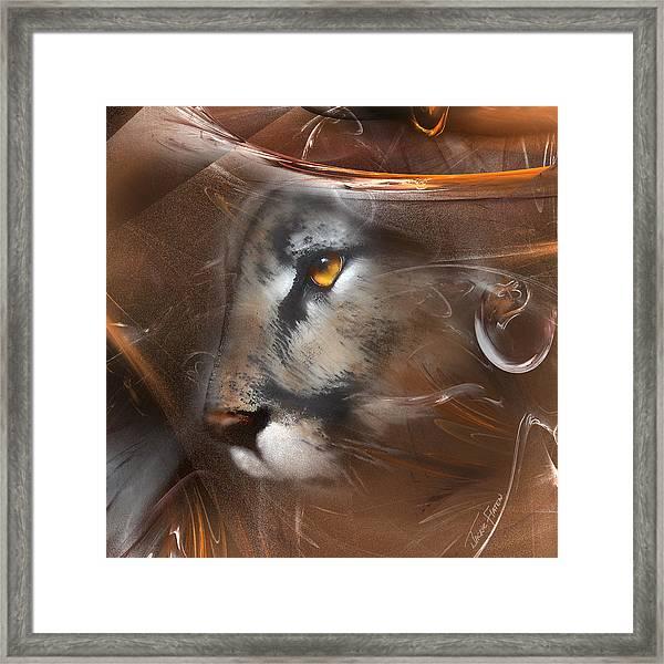 Feline Princess Framed Print