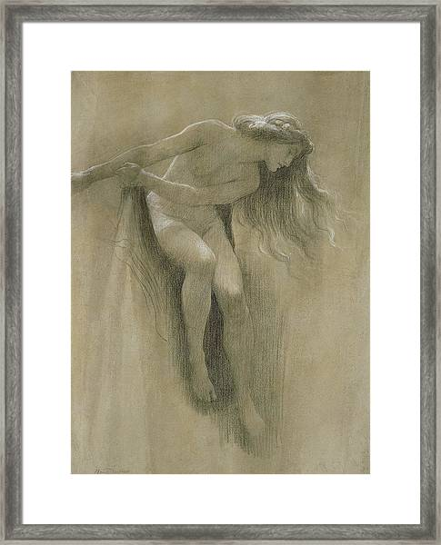 Female Nude Study  Framed Print
