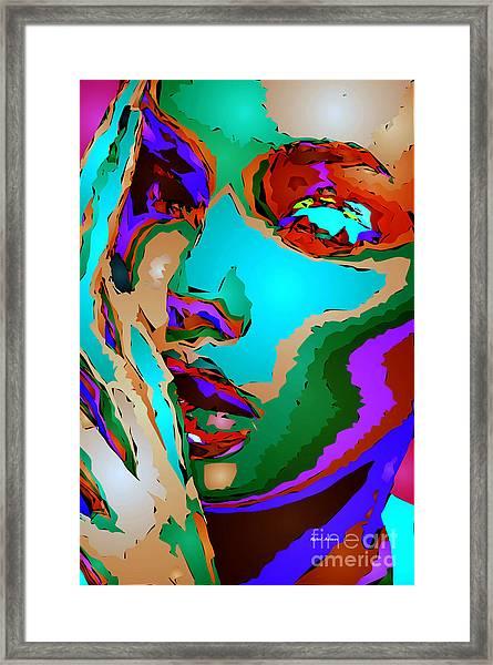 Female Tribute V Framed Print