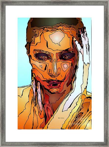 Female Tribute Vii Framed Print