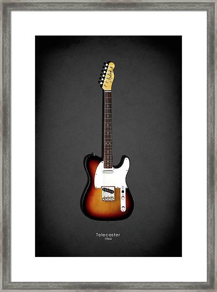 Fender Telecaster 64 Framed Print
