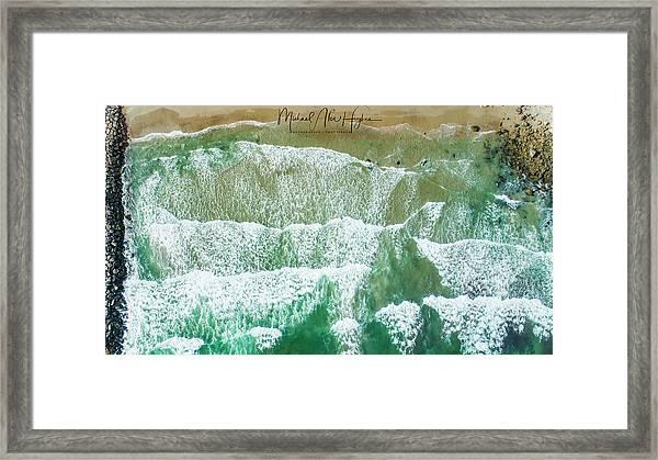 Fenway Best Little Beach Framed Print
