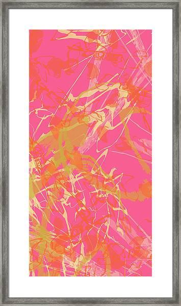 Fern Palette Painting #1 Framed Print