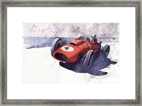 Ferrari 246 Mike Hawthorn Framed Print