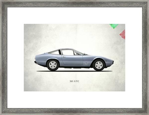 Ferrari 365 Gtc-4 Framed Print
