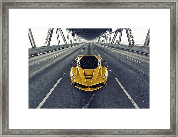 Ferrari Laferrari Framed Print