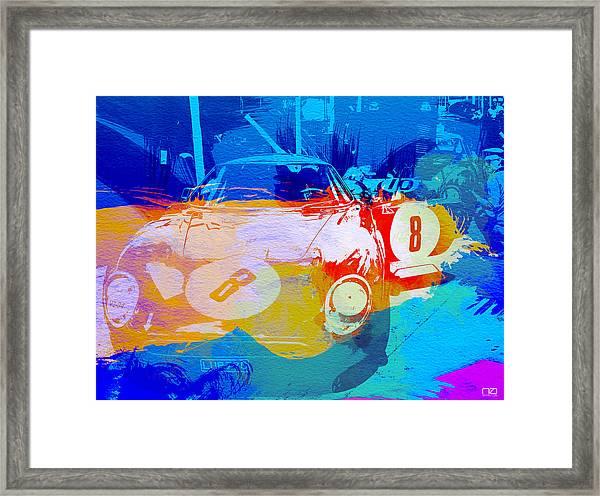 Ferrari Pit Stop Framed Print