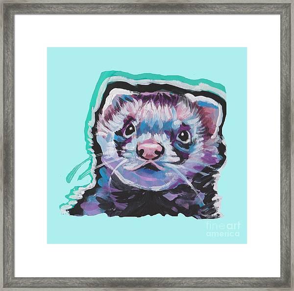 Ferret Fun Framed Print