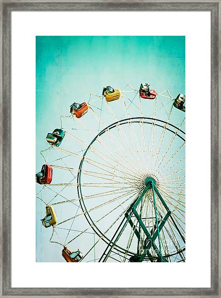 Ferris Wheel 2 Framed Print