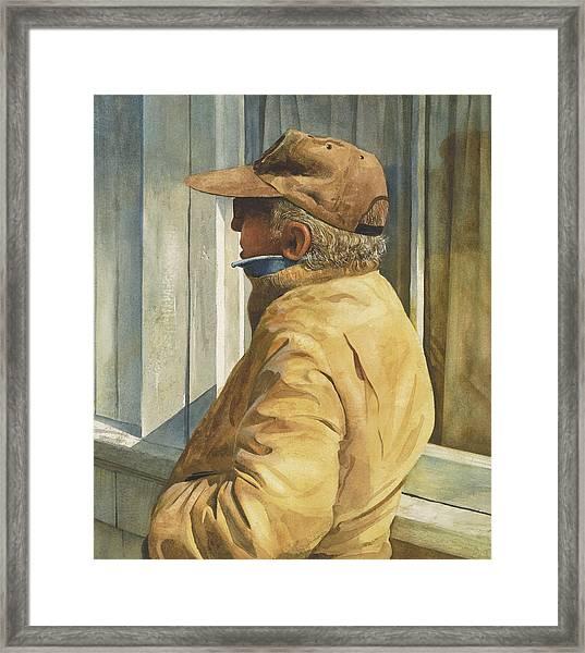 Ferry Watcher Detail Framed Print