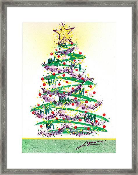 Festive Holiday Framed Print