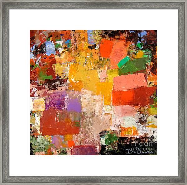 Festivity Framed Print