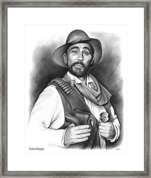 Festus Haggen Framed Print