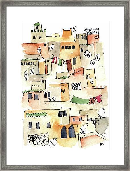 Fez Medina 2017 Framed Print
