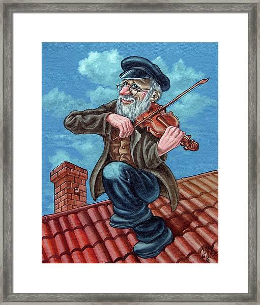 Fiddler On The Roof. Op2608 Framed Print