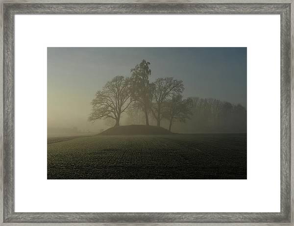 Fiddler's Mound Framed Print