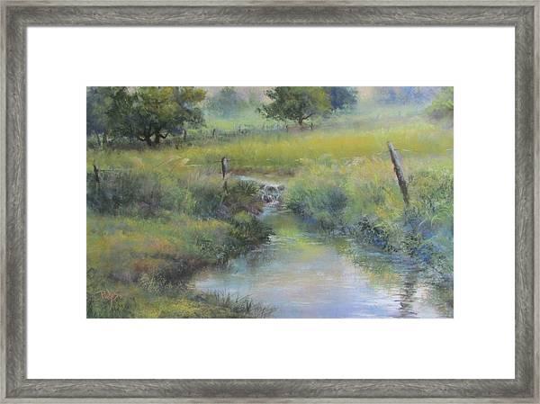 Field And Stream Framed Print