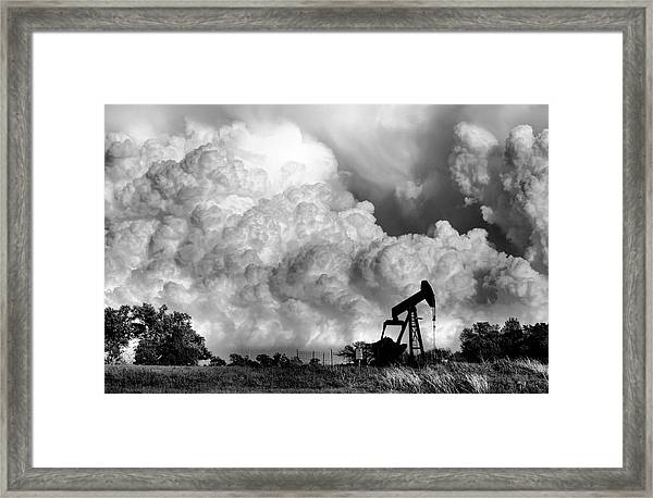 Field Of Nightmares  Framed Print by Karen Scovill