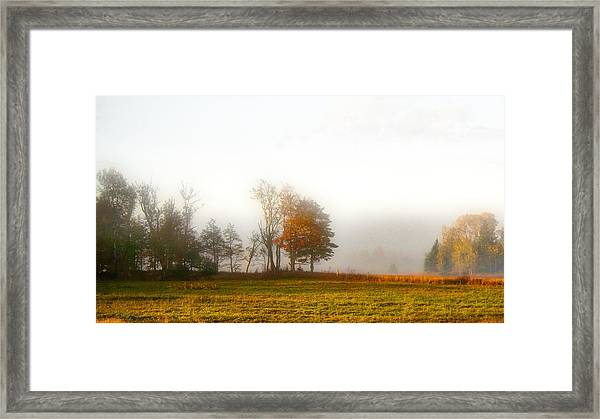 Field Of The Morn Framed Print