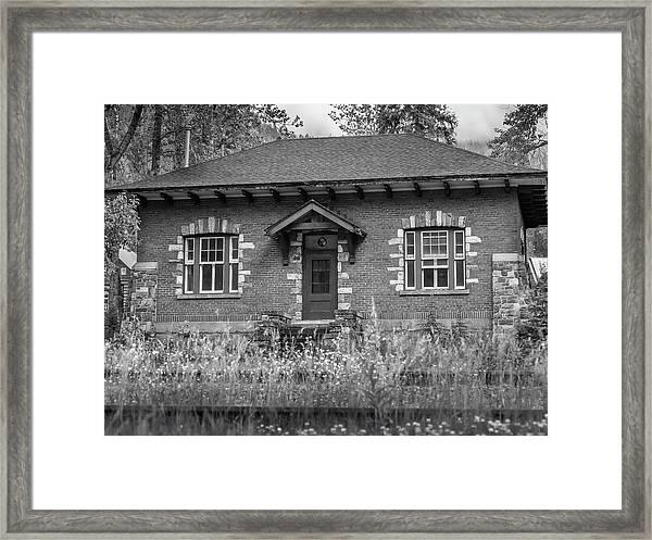 Field Telegraph Station Framed Print