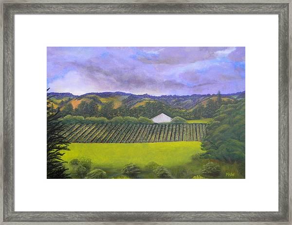 Fields Of Plenty Framed Print