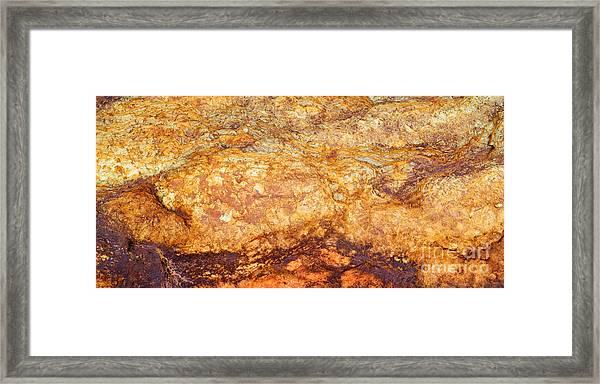Fiery Mountain Framed Print