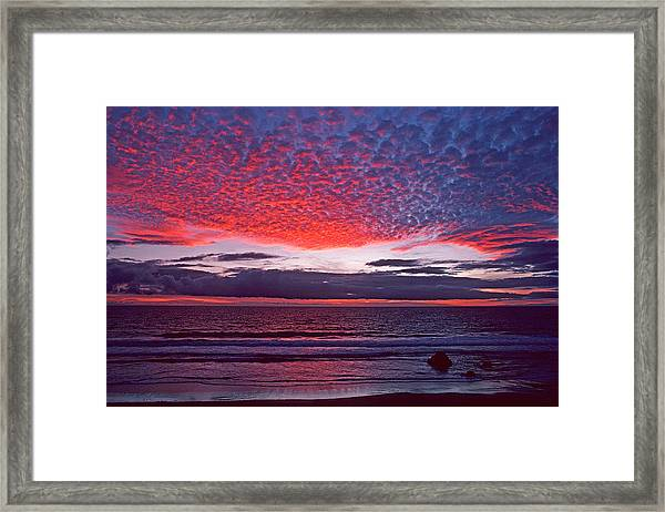 Fiesta In The Sky Framed Print