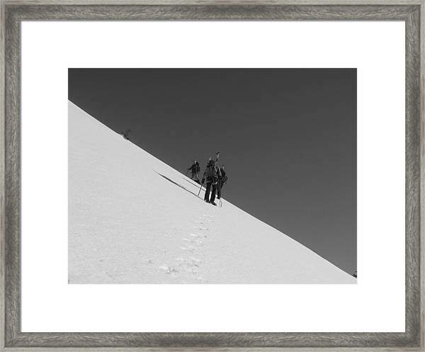 Fifty Fifty Framed Print by Mark Camp