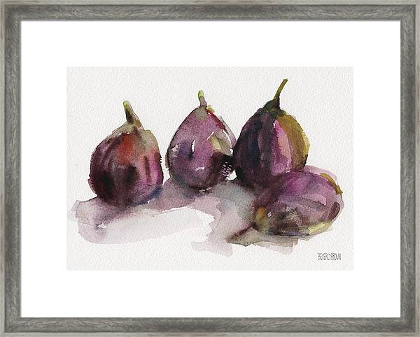 Fig Season Framed Print
