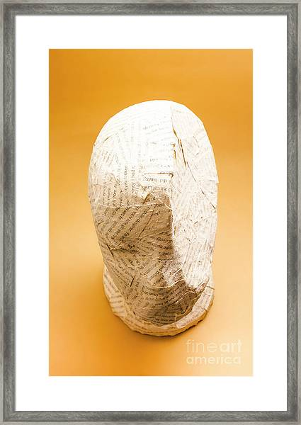 Figurative Poetry Framed Print