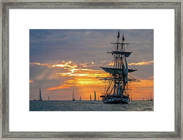 Final Voyage Framed Print