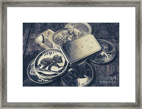 Finance And Commodities Framed Print