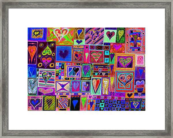 Find U'r Love Found 2 Framed Print