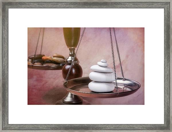 Find Your Balance Framed Print
