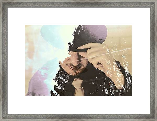 Finding Beauty Within Framed Print