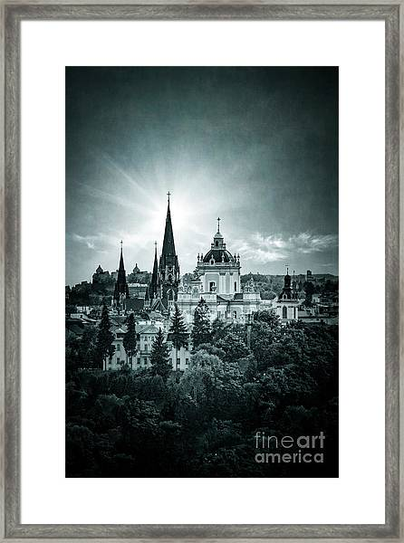 Finding Faith Framed Print