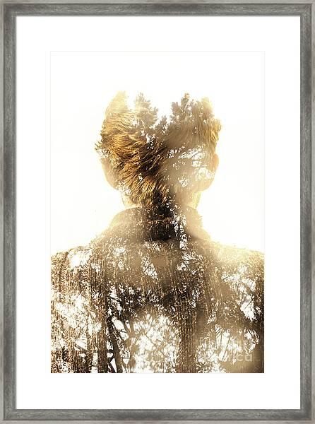 Finding Spirit Within Framed Print