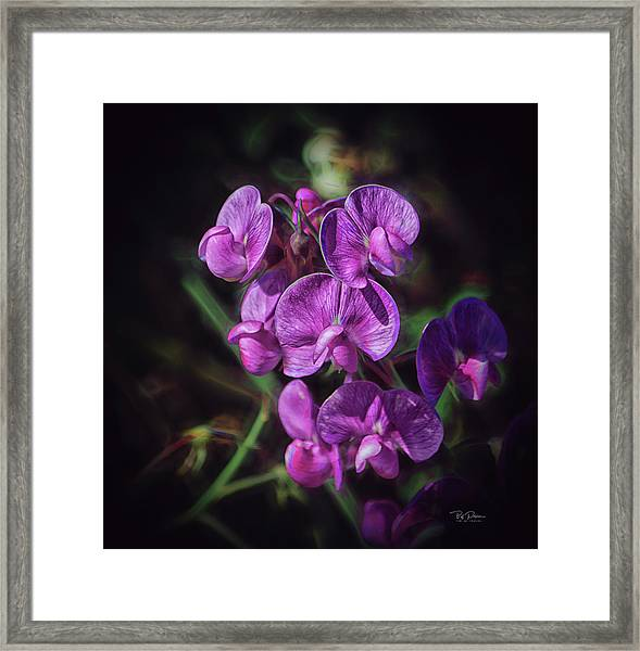 Fine Flower Arrangement Framed Print